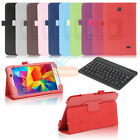 "For Samsung Galaxy Tab 4 7 7.0"" T237 SM-T230NU Leather Stand Case Cover+Keyboard"