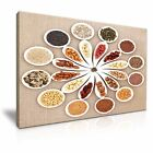 FOOD & DRINK Spice/Pepper 71 1L Framed Print Canvas Wall Art~ More Size