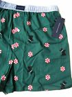 A0311 Tommy Hifiger NEW Men's November Christmas Elastic Band Woven Boxer 74024