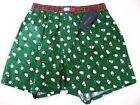 A0311 Tommy Hilfiger NEW Men's November Christmas Elastic Band Woven Boxer S XL