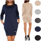 Glamour Empire Women's Long Sleeve Tulip Dress  340