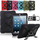 Waterproof Shock Dirt Proof Rugger Case for Apple iPad 2 3 4 5 Air Mini Retina