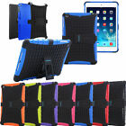 HEAVY DUTY SURVIVOR TOUGH SHOCK PROOF HARD CASE COVER FOR IPAD TABLETS