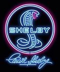 Shelby Neon Style T-Shirt - Shelby Cobra /  Mustang FREE USA SHIPPING!