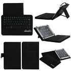USA Stock Wireless Bluetooth Keyboard Stand Case Cover For 7 8 8.4 Tablet PC