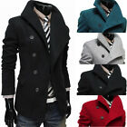 New Business Fashion Men's Casual Korean Trench Coats Outwear Overcoats Jackets