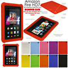 Shock Protective Tough Rugged Rubber BUMPER Case for Amazon Fire HD 7 (HD7/2014)