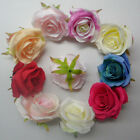 Wholesale 5 10 20pcs rose wedding flower decoration 10color choose Free Shipping