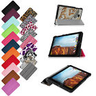 Ultra Slim Leather Shell Stand Cover Case For Verizon Ellipsis 8 4G LTE Tablet