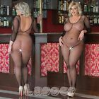 █▬█ █ ▀█▀ - Plus Size - Netz Body Catsuits Body Stocking, XL-XXXL