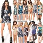 Sexy Womens Fitted Summer MIni Skirt Top Ladies Vest Bodycon Sleeveless Dress
