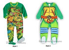 TEENAGE MUTANT NINJA TURTLES 24 2T 3T 4T 5T Footed Pajamas BLANKET SLEEPER TMNT