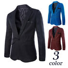 Mens Slim Suits Coat Plus Size Korean Fashion Edge Blazers Business Jackets