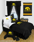 Iowa Hawkeyes Comforter and Sham Twin Full Queen Size Sets