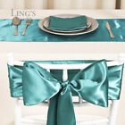 "30+ Colors 6""x108"" Satin Chair Cover Sash Bow Wedding Party Decorations"