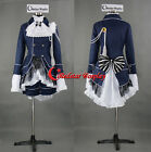 Ciel Phantomhive Cosplay Dark Blue Costume from Black Butler - Real Stock