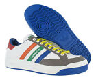 Adidas Nastase Leather Mens Shoes White/multi-color Size