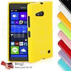 New TPU Slim Gel Jelly/Rubber Phone Case Cover For Nokia Lumia 730 735