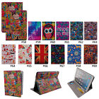 Color Cute PU Leather Flip Stand Full Body Protector Case Cover For iPad Air 2