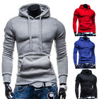 CHEAP New Fashion Mens Slim Casual Pullover Hoodies Slim Fit Hooded Coat Jackets