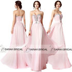 Evening Prom Dresses Crystal Beaded Plunging V See-through Panel Party Gown 2015