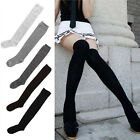 Hot New Women Lady Girl Over The Knee Cotton Socks Thigh High Cotton Stockings