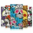 HEAD CASE DESIGNS FLORID OF SKULLS HARD BACK CASE FOR SONY XPERIA E3 D2202