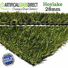 Hoylake 28mm Artificial Grass, Fake Lawn Turf, Realistic, Garden, Free Delivery