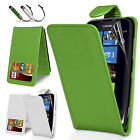 Leather Wallet Flip Case Cover For Nokia Lumia 610 Free Screen Protector