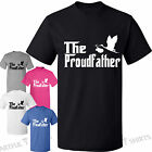 The proud father T-Shirt new baby gifts for Dads tshirts presents Mens Funny top