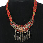 """19"""" Multi-strand Zircon Beads Copper Chain Necklace Jewelry FW0538 limited offer"""