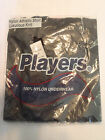PLAYERS Mens M Sleeveless Black Nylon Everyday Athletic Shirt NWT