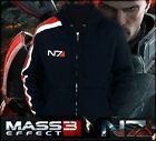 Mass Effect 3 N7 100% Cotton Cosplay Hoodie Coat Costume Jacket  ★★92