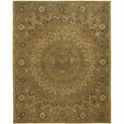 Safavieh Hand-Tufted Heritage Brown / Grey Wool Area Rugs - HG914A