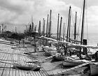 1906 Historical Photo Oyster Boats New Orleans