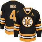 NWT NHL CCM Heroes of Hockey Boston Bruins Bobby Orr Youth Jersey - S/M & L/XL