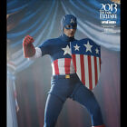 HOT TOYS Captain America Star Spangled Sixth 1:6 scale Figure