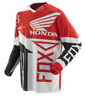 Fox Racing 360 Honda Red White Dirt Bike Jersey Motocross MX ATV 2014