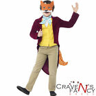 Fantastic Mr Fox Roald Dahl  Licensed Kids Boys Fancy Dress Child BOOK WEEK DAY