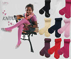 "Girls Tights 60 Denier Soft Opaque Matt Assorted Colours Age 4-11 Knittex ""MARY"""
