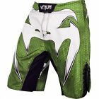 Venum Amazonia 4.0 Fight Shorts (Green/White) - bjj mma ufc