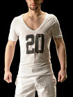 Barcode Berlin 90926 V-Neck Guapo lightgrey-black  Gr: S - XL