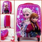 """New Frozen Elsa and Anna Wheeled Suitcases Rolling Luggage 18""""/H47*L33*W23cm"""