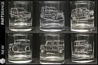 Glass Tumbler Land Range Rover P38 Classic Defender V8 Ideal Personalised Gift