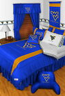 West Virginia Mountaineers Comforter Sham & Pillowcase Twin to King Size