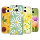 HEAD CASE ROMANTIC FLOWERS SILICONE GEL CASE FOR HTC ONE M8