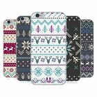 HEAD CASE FAIR ISLE WINTER PRINTS SILICONE GEL CASE FOR APPLE iPHONE 6 4.7