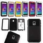 Shock Proof Protective Duty Cover Aluminum Metal For Samsung Galaxy Note 4 N9100
