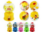 Plastic Mini Gumball Machine Candy Vending Miniature Coin Bank