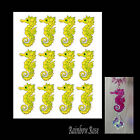 Transparent film #70 SEAHORSE 70mm YELLOW transparency 3D for suncatcher etc